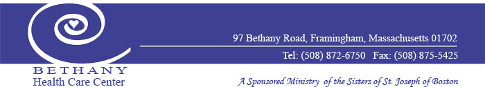 Bethany Health Care Center Logo